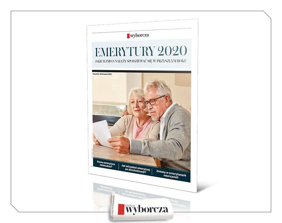Emerytury 2020