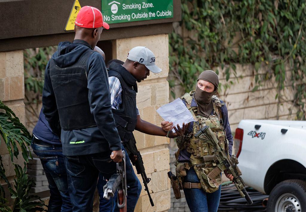 Zachodni komandos, który samorzutnie pomógł podczas zamachu w Nairobi