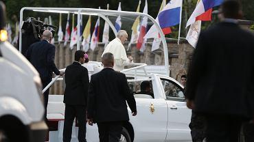 Panama. Światowe Dni Młodzieży. Incydent podczas przejazdu kolumny z papieżem Franciszkiem.