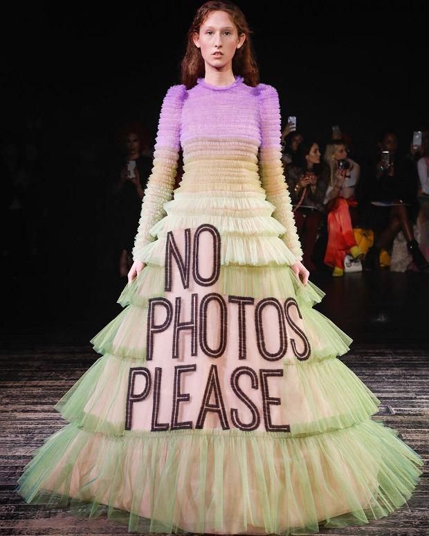 Viktor & Rolf - kolekcja 'haute couture' wiosna-lato 2019