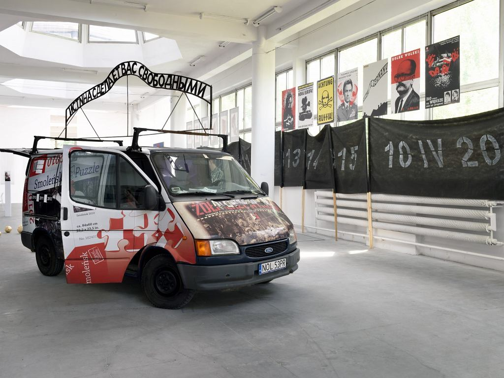 Wystawa 'Historiofiia. Sztuka i polska pamięć'