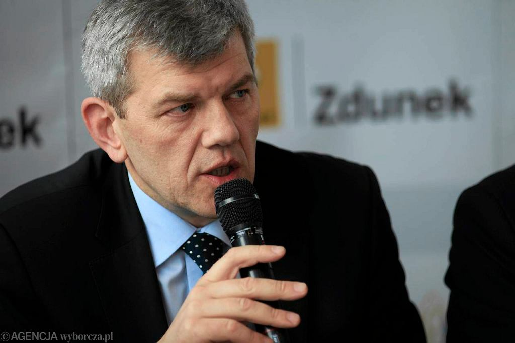 Prezes Wybrzeża Gdańsk Robert Terlecki