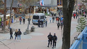 Policja na Krupówkach (zdjęcie ilustracyjne)