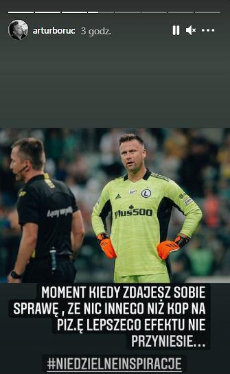 Komentarz Artura Boruca po meczu ze Śląskiem Wrocław