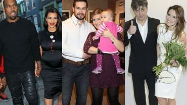 Kim Kardashian, Kanye West, Katarzyna Skrzynecka, Janusz Józefowicz, Natasza Urbańska