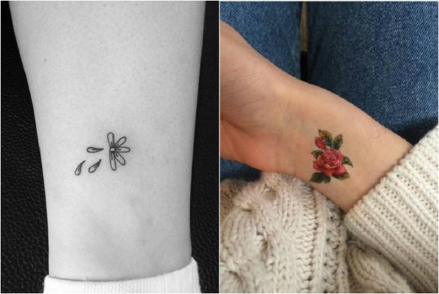 Mały Tatuaż Wzór Poradnik Kobiety