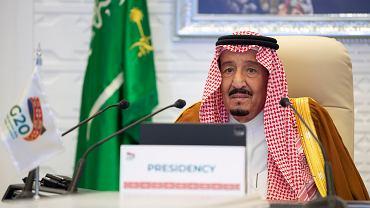Szczyt G20 odbył się w formie wideokonferencji. Przewodniczyła jej Arabia Saudyjska. Na zdjęciu król Salman
