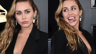 Miley Cyrus na gali Grammy