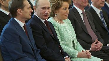 Szefowa Rady Federacji Walentyna Matwijenko