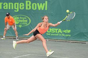 17-letnia polska tenisistka pokonała finalistkę Roland Garros. Największy sukces w karierze