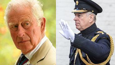 Książę Karol, książę Andrzej