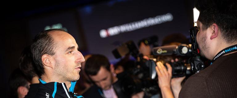 Robert Kubica straci połowę dnia testów. Inny kierowca wykupił jazdy