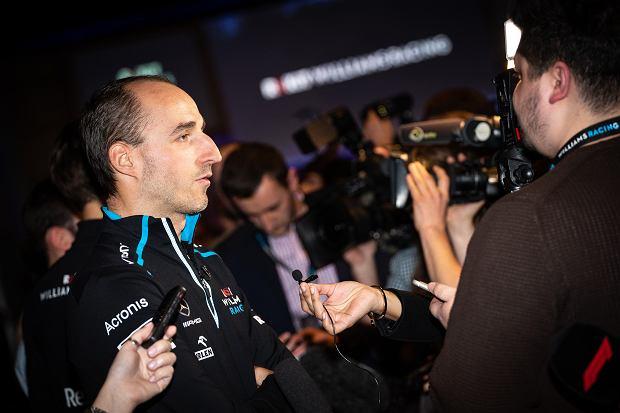 Bolid Williamsa F1. To w nim pojedzie Robert Kubica