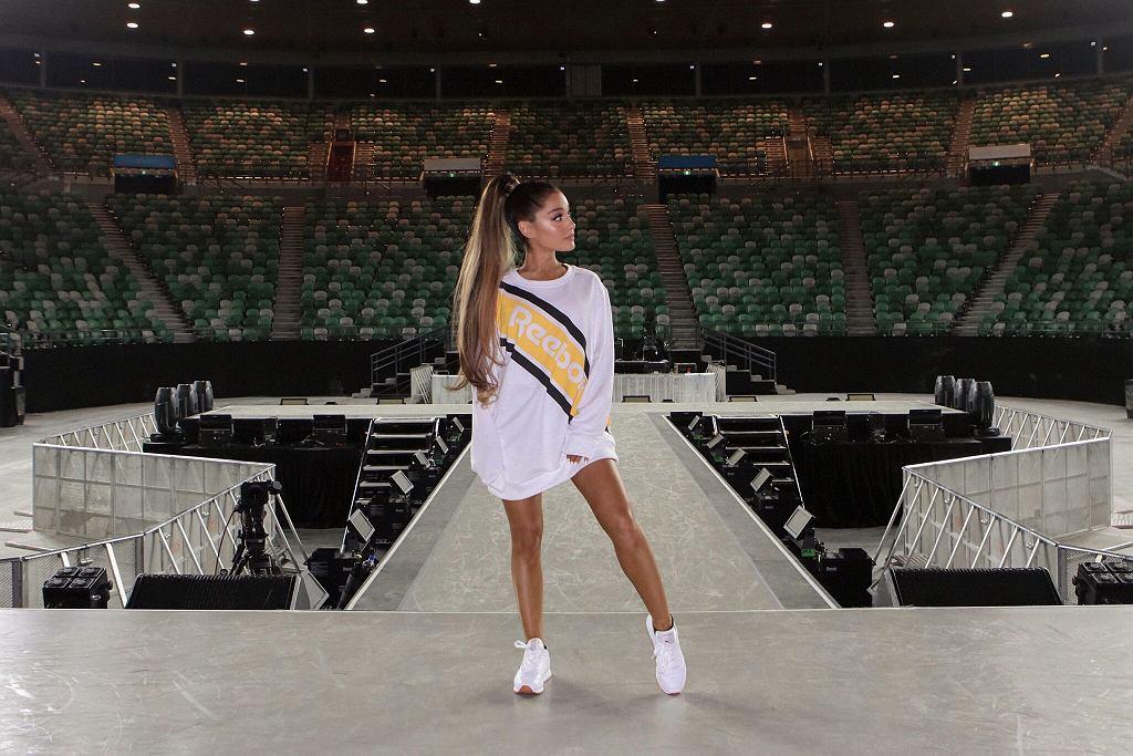 Ariana Grande nową ambasadorką marki Reebok
