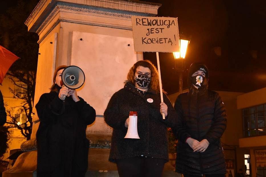 Strajk kobiet w Oleśnicy