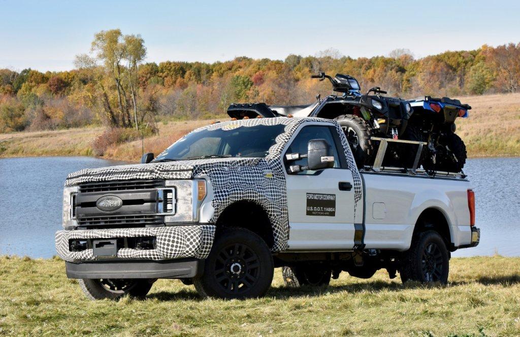 Ford F-Series Super Duty podczas testów
