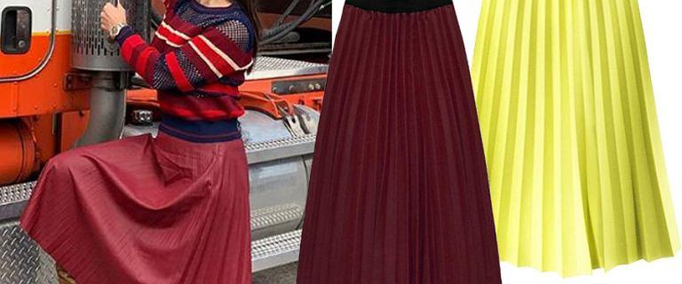Plisowane spódnice są eleganckie i bardzo modne. Uwielbia je sama Kinga Rusin. Wybrałyśmy 18 pięknych modeli na wiosnę