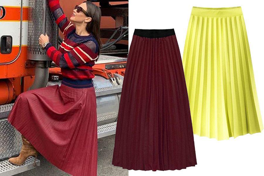 Spódnice plisowane – ranking najładniejszych modeli | Blog