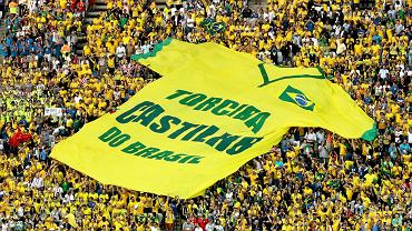 Oprawa brazylijskich kibiców