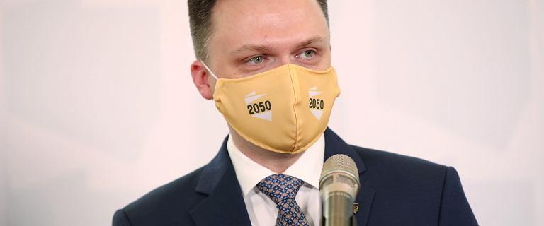 Ruch Szymona Hołowni z dużym wzrostem poparcia. Spadek PiS i KO [SONDAŻ]
