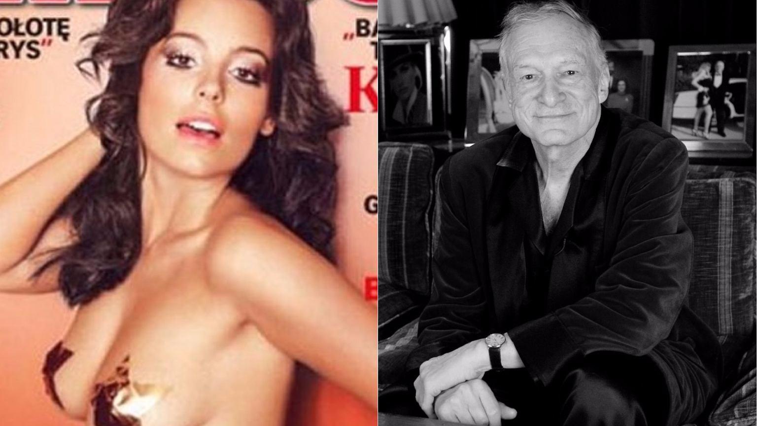 Anna Mucha Playboy anna mucha �egna hugh hefnera. to najbardziej nieoczekiwany