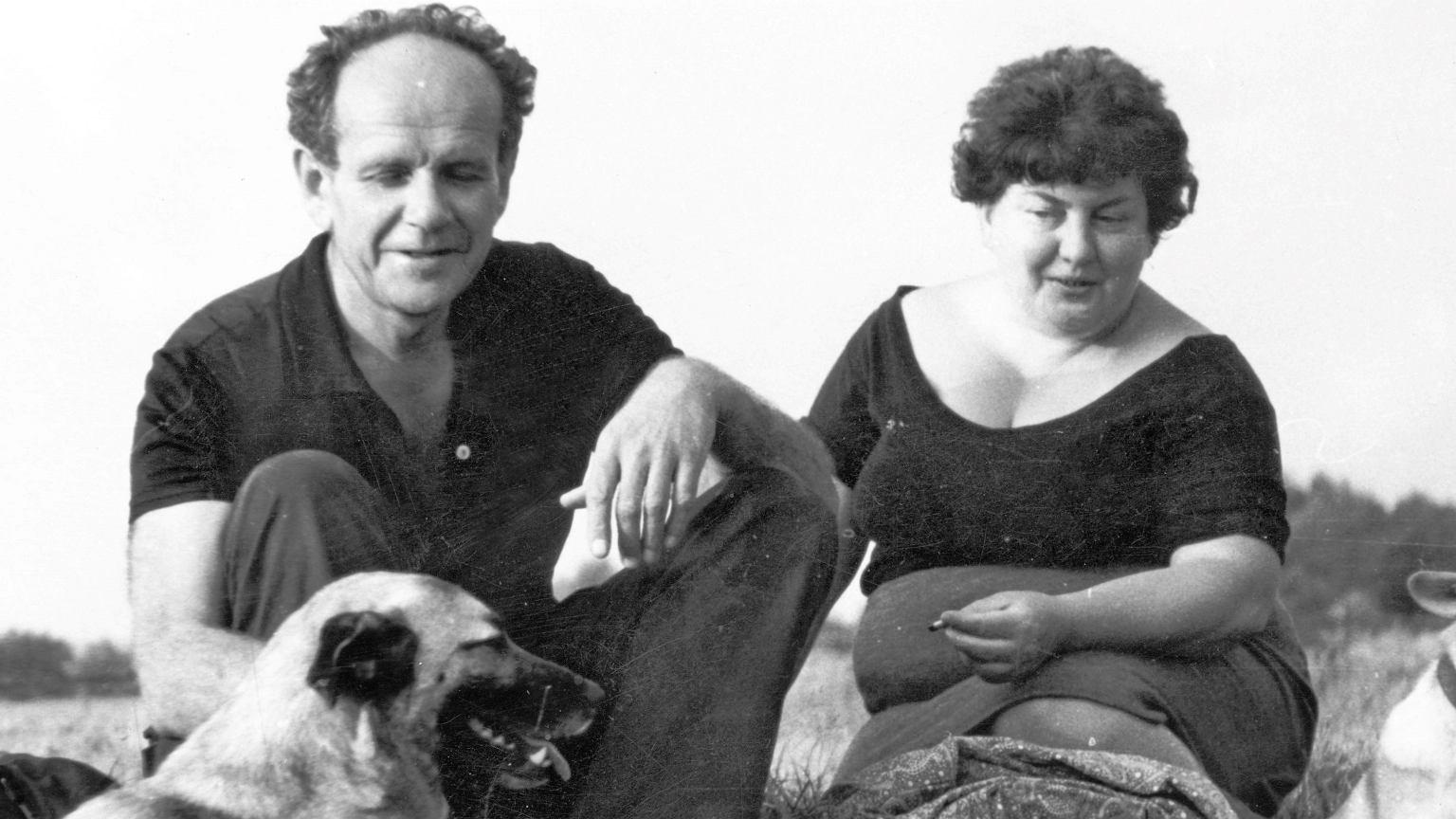 Jadwiga i Antoni Kępińscy w Dębkach nad Bałtykiem