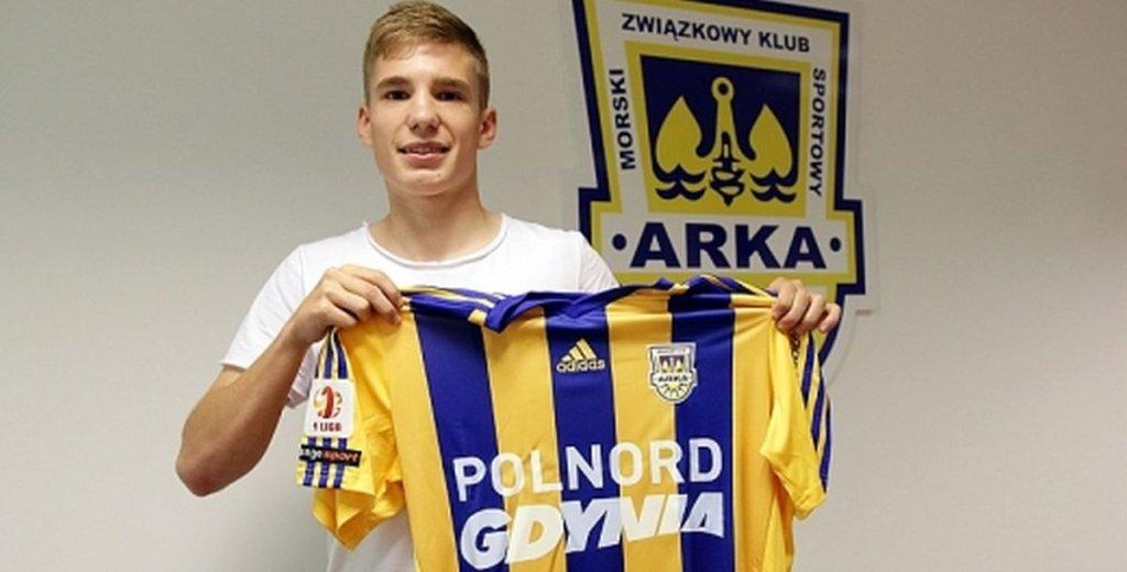 Mateusz Czapłygin nowym piłkarzem Arki