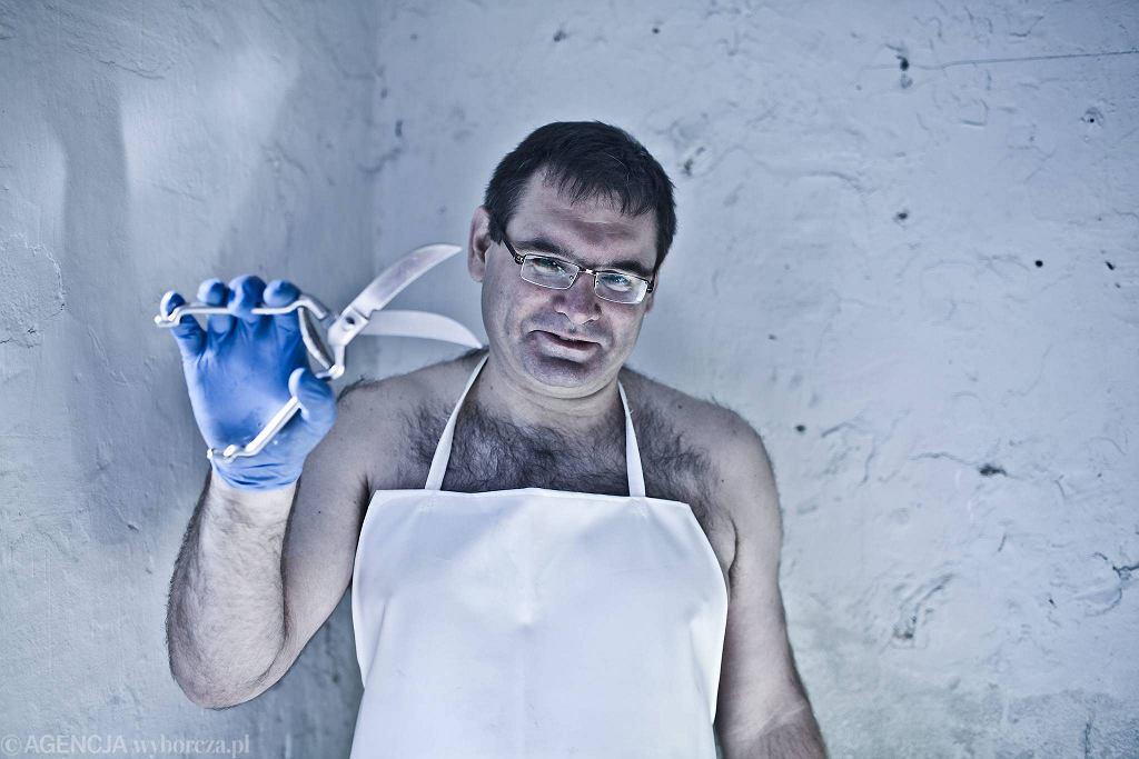 Crazy butcher, rzeźnik Grzegorz Kwapniewski