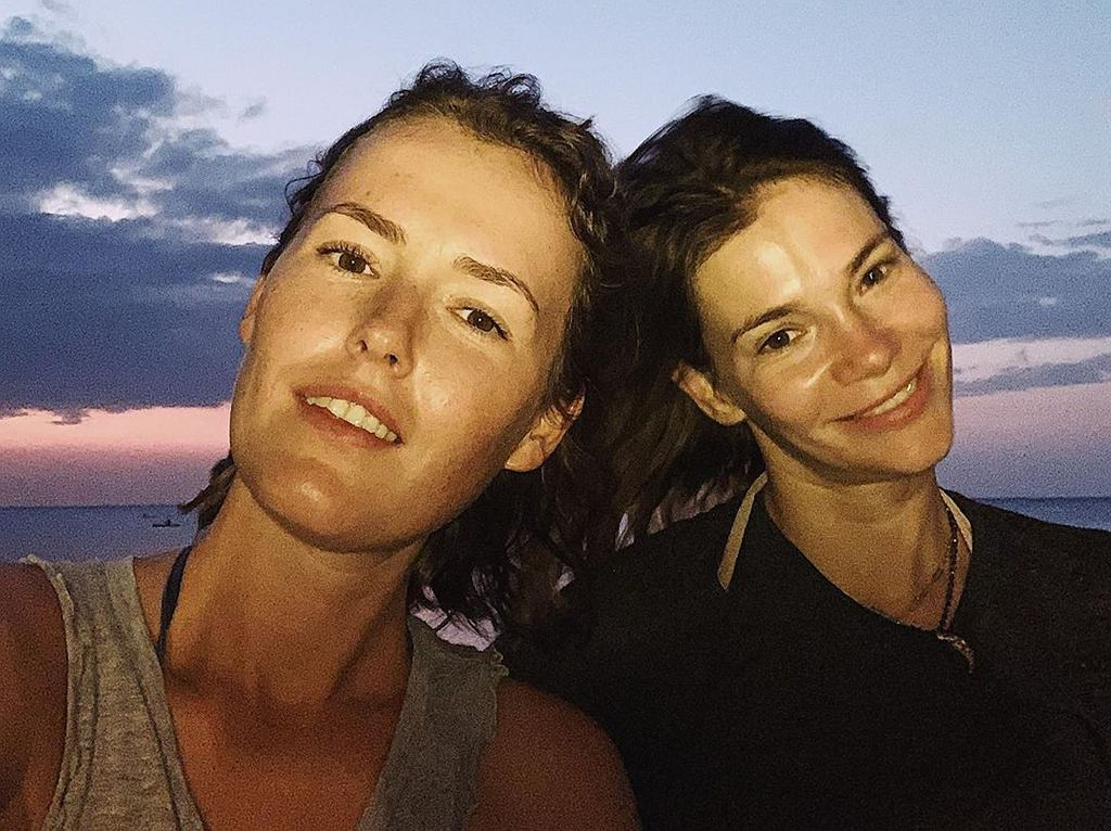 Maja Bohosiewicz i Olga Frycz trenują na wakacjach