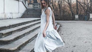 wendzikowska sukienka oversize