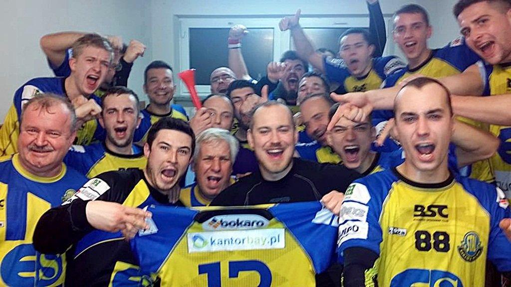 Wielka radość stalowców po zwycięstwie w Olsztynie