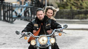 Magdalena Ogórek dostała mandat za jazdę na motocyklu bez kasku