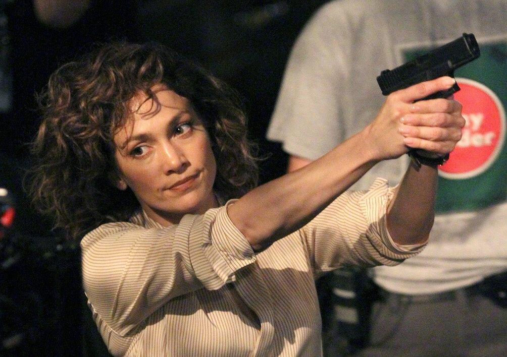 Jennifer Lopez na planie Shades of Blue