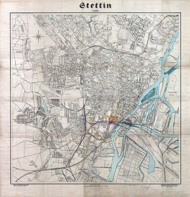 Oto Niezwykle Dokladna Mapa Przedwojennego Szczecina