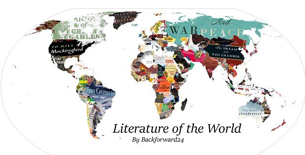 Literacka mapa świata