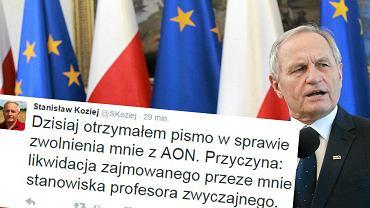 Były szef BBN generał Stanisław Koziej