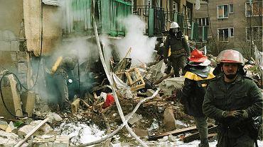 Wybuch wieżowca w Gdańsku przy ul. Wojska Polskiego, 17 kwietnia 1995 r.