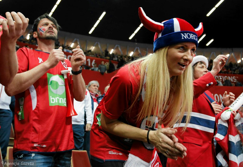 Mistrzostwa Europy w piłce ręcznej mężczyzn 2016. Mecz Norwegia - Chorwacja w Spodku