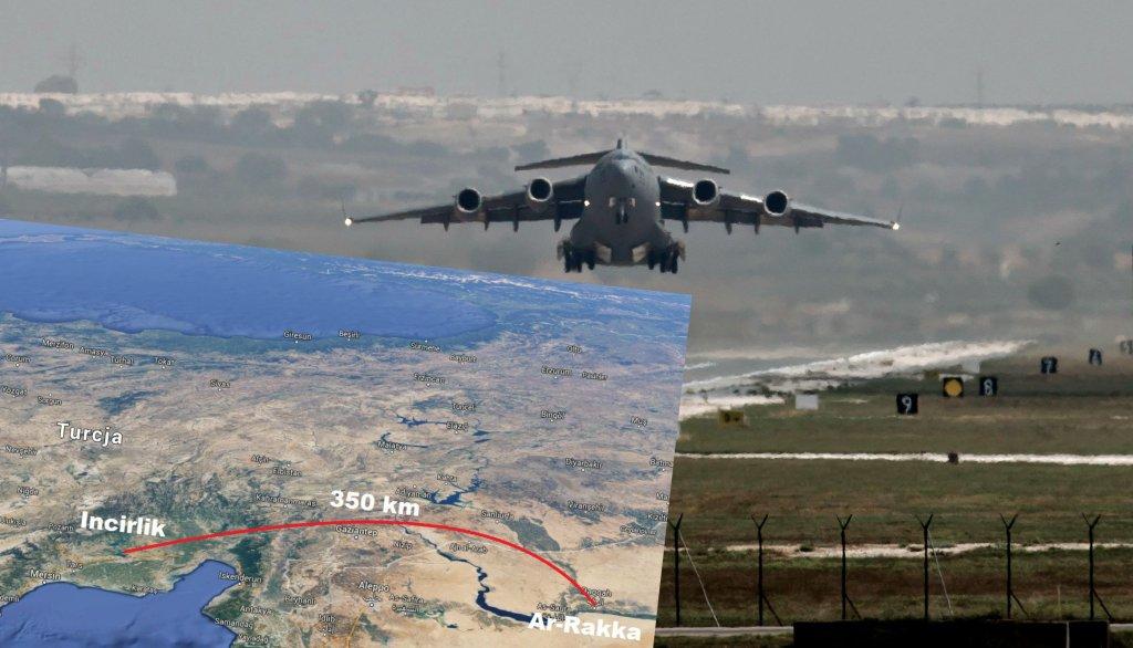 USA podpisało porozumienie o korzystaniu z Tureckiej bazy lotniczej Incirlik