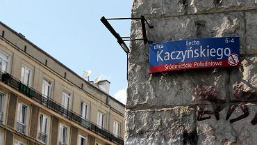 Ul. L. Kaczyńskiego w Śródmieściu