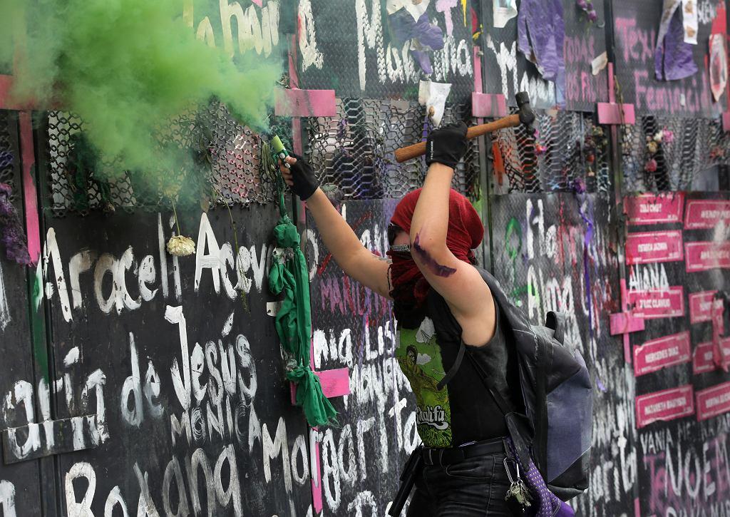 Demonstracja w Meksyku