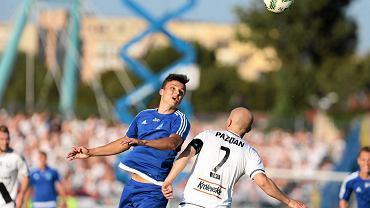 Ruch Chorzów - Legia Warszawa 0:2. W akcji Patryk Lipski
