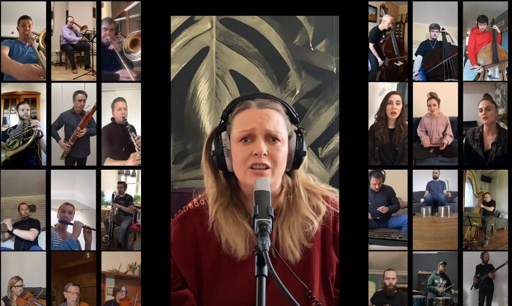 MIUOSH | SMOLIK | NOSPR - Tramwaje i gwiazdy feat. Kasia Nosowska (#zostańwdomu version)