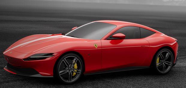 Ferrari Roma debiutuje w... konfiguratorze