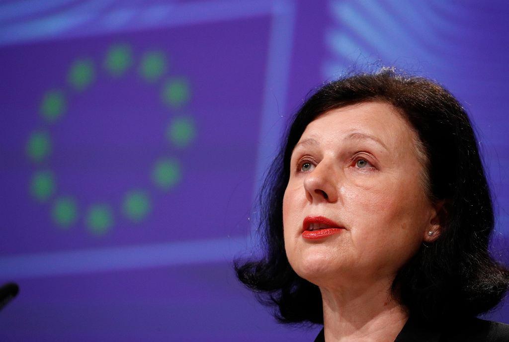 Wiceszefowa Komisji Europejskiej Vera Jourova