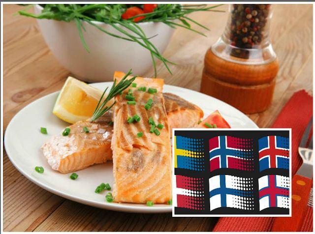 Dieta w krajach nordyckich (północnych Europy), do których należą skandynawskie i ich najbliżsi sąsiedzi, głównie z powodu klimatu nie była zbyt urozmaicona. Skoro jednak zapewniła zdrowie ich mieszkańcom, może warto szukać inspiracji?