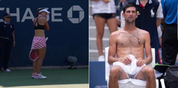 US Open. Alize Cornet napomniana za zdjęcie koszulki. Tenisistki domagają się równych praw