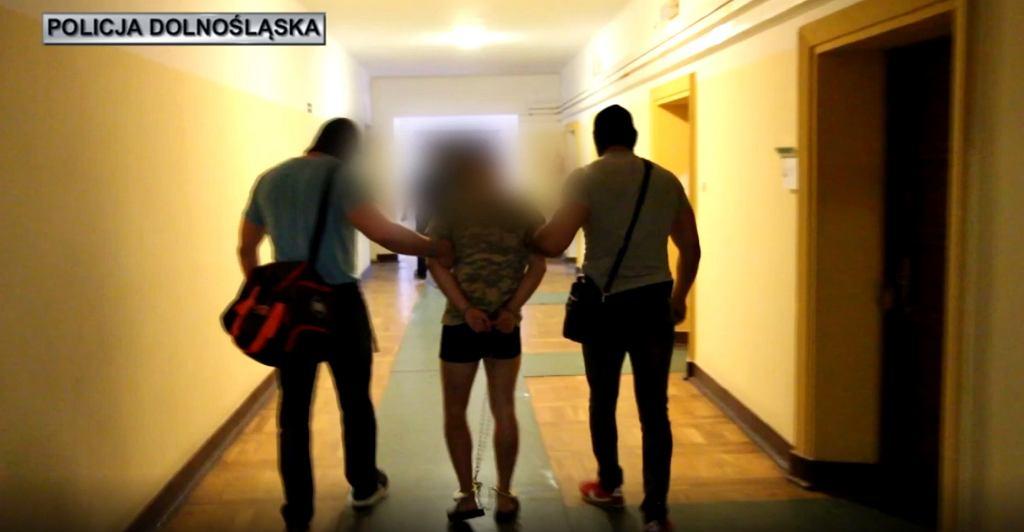 Zabójstwo Kristiny z Mrowin. Zatrzymanie podejrzanego 22-latka