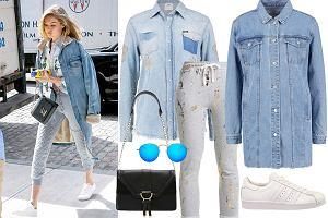Spodnie dresowe na co dzień - zobacz jak to robi Gigi Hadid