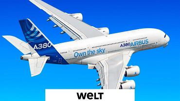 Samolot firmy Airbus